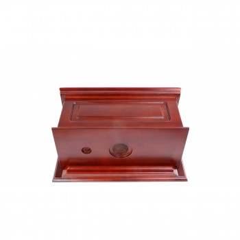 <PRE>Tank Cherry Hardwood Raised Panel Tank Only </PRE>zoom3