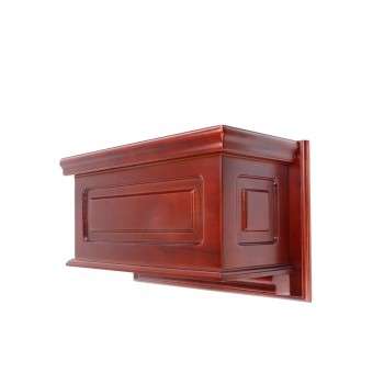 <PRE>Tank Cherry Hardwood Raised Panel Tank Only </PRE>zoom4