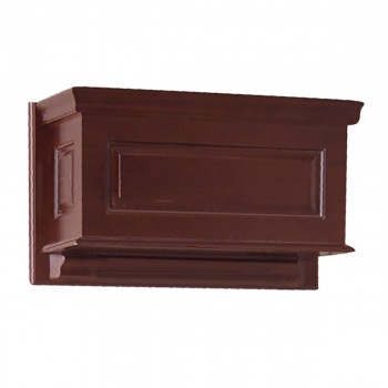 Tank Cherry Hardwood Raised Panel Tank Only