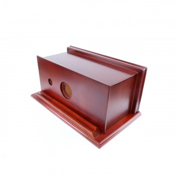 Toilet Part Cherry Hardwood Replacement Tank Only Toilet Tank Bathroom Tanks Toilet Tanks