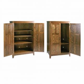 Mission Dark Oak Mission Oak Furniture Dark 68H, 42W, 21 deep172621grid