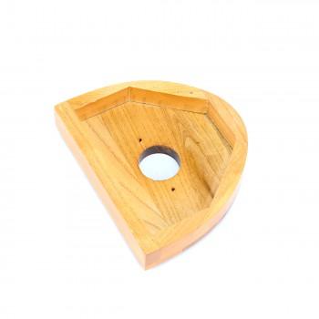 <PRE>Toilet Part Light Oak Hardwood for High Tanks </PRE>zoom7