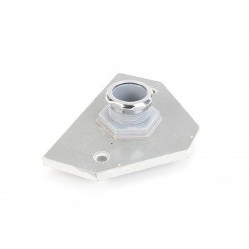 Toilet Parts - Plastic Conversion Panel for Chrome Z-pipe Toilet Chrome ring by the Renovator's Supply