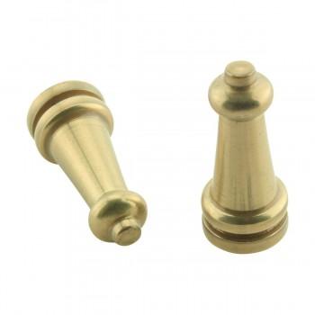 Brass Stair Carpet Rod Ball Finial Towel Tip Pair Carpet Rod Ball Carpet Rod Tip Staircase Rod Balls