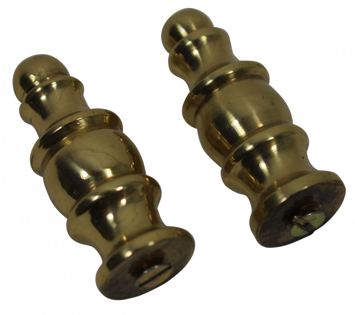 Brass Stair Carpet Rod Finial Scepter Tip Pair Carpet Rod Finials Carpet Rods Stair Rod Finials