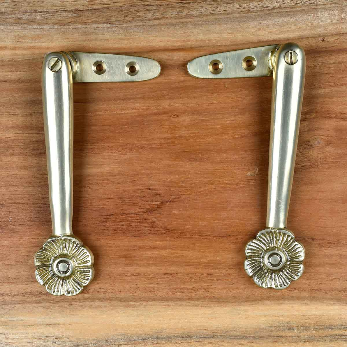 U003cPREu003eSolid Brass Carpet Clip Stair Holder Pair Lifetime Finish ...