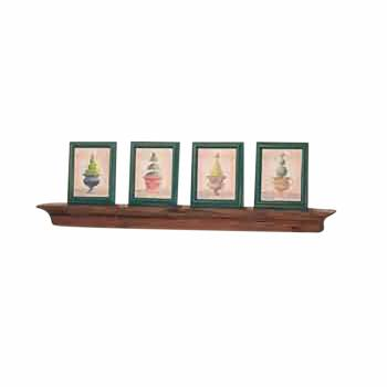 Wall Mounted Bathroom Shelves Antique Shelf Pine Mantle 30 Inch173012grid