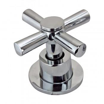 <PRE>Kitchen Faucet Chrome Cross 2 Handles Widespread  </PRE>zoom9