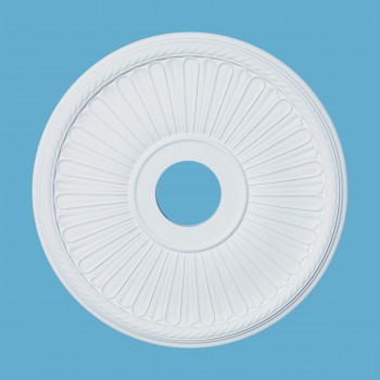 Ceiling Medallions - Ceiling Medallion Le Vesinet 20 in. dia. 4 in. dia. center hole by the Renovator's Supply