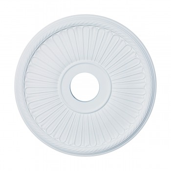 Ceiling Medallion White Urethane 20