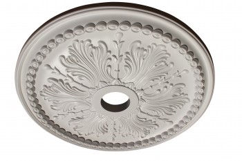 Ceiling Medallion White Urethane 27 1/2
