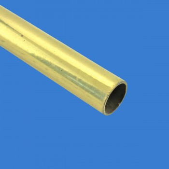 Smooth Bright Brass Stair Carpet Rod Tubing 12OD 36 Brass Carpet Rods Brass Stair Rods Stair Runners Rods