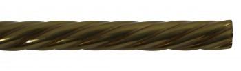 Spiral Stair Carpet Rod Tubing 12 OD 36 Lifetime Brass Carpet Rod Carpet Rods Stair Rod