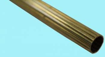 <PRE>Brass Stair Carpet Rod Reed Tube 1/2inch OD 36&quot; </PRE>zoom2