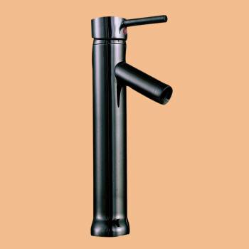 spec-<PRE>Black Nickel Single Hole Bathroom Faucet Lever Handle 12&quot; H </PRE>