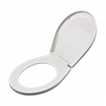<PRE>Child Sized Toilet Seat Replacement White Molded Plastic</PRE>zoom4