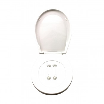 <PRE>Child Sized Toilet Seat Replacement White Molded Plastic</PRE>zoom8