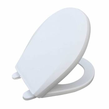 Child Sized Toilet Seat Replacement White Molded Plastic17424grid