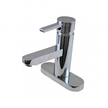<PRE>Bathroom Faucet Chrome 1 Handle 4inch Centerset 6 3/4&quot; Tall </PRE>zoom1
