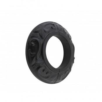 Rustproof Radiator Flange Black Aluminum Powder Coat Collar Radiator Flange For Floor Radiator Pipe Hole Covers Black Radiator Flange