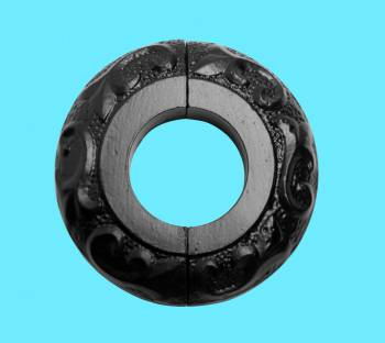 Radiator Flange Black Aluminum Escutcheon 1 14 ID Radiator Flange For Floor Radiator Pipe Hole Covers Black Radiator Flange