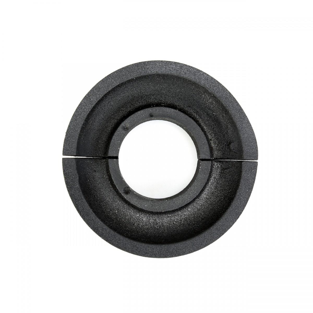 Radiator Flange Black Aluminum Escutcheon 1 14 ID Radiator Flange For Floor Radiator Pipe Hole Covers Black Radiator Flange