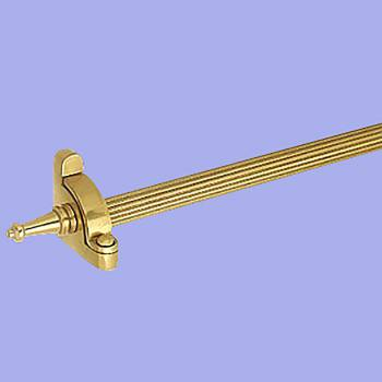 <PRE>Carpet Rod Set Bright Brass 36inch Reed Tubing </PRE>zoom2