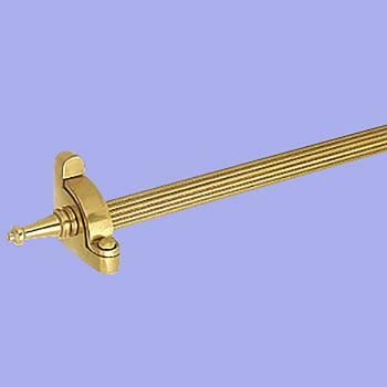 <PRE>Carpet Rod Set Bright Brass 36&quot; Reed Tubing </PRE>