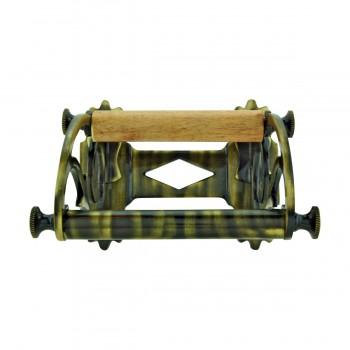 <PRE>Toilet Paper Holder Antique Brass Victorian Tissue Holder </PRE>zoom3