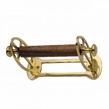 Antique Toilet Paper Holder Polished Brass Tissue Holder 17501grid