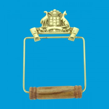 <PRE>Antique Toilet Paper Holder Wall Mount Brass Victorian Tissue Holder</PRE>zoom2