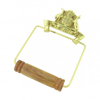 <PRE>Antique Toilet Paper Holder Wall Mount Brass Victorian Tissue Holder</PRE>zoom3