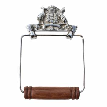 Antique Toilet Paper Holder Wall Mount Chrome Victorian Tissue Holder 17511grid