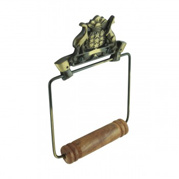 <PRE>Toilet Paper Holder Wall Mount Antique Brass Victorian Hands Tissue Holder </PRE>zoom3