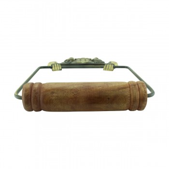 <PRE>Toilet Paper Holder Wall Mount Antique Brass Victorian Hands Tissue Holder </PRE>zoom5