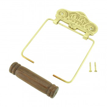 <PRE>Antique Toilet Paper Holder Wall Mount Brass Toilet Tissue Holder for Bathroom</PRE>zoom6