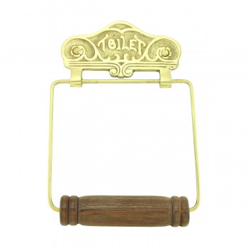 Antique Toilet Paper Holder Wall Mount Brass Toilet Tissue Holder for Bathroom