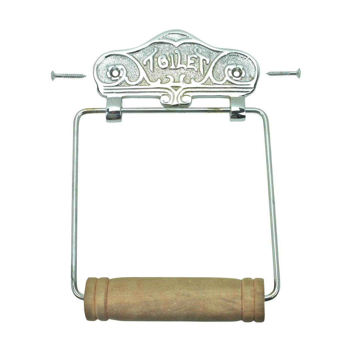 Antique Toilet Paper Holder Chrome Toilet Tissue Holder TP Holder TP Holders Toilet Paper Holder