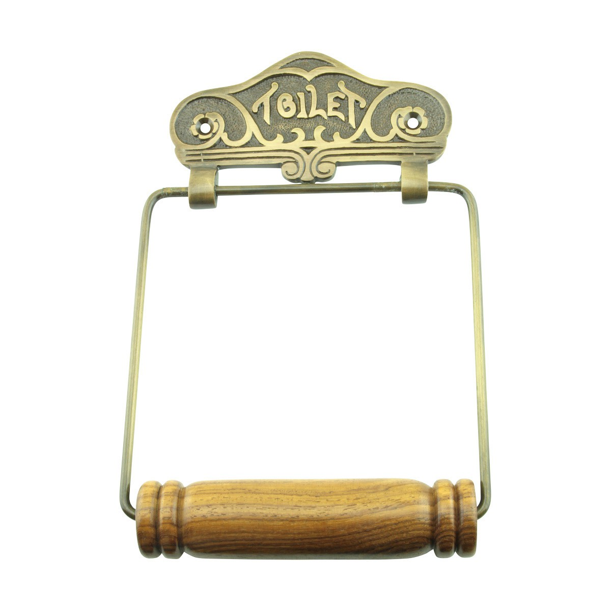 paper holder antique brass elegance tissue holder
