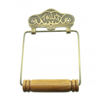 Toilet Tissue Holder Antique Brass