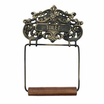 <PRE>Toilet Paper Holder Antque Br Princess Crown Tissue Holder </PRE>