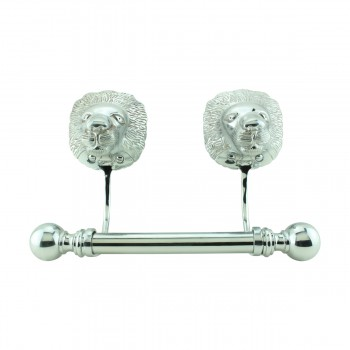 <PRE>Antique Toilet Paper Holder Wall Mount Chrome Lions Tissue Holder for Bathroom</PRE>zoom1