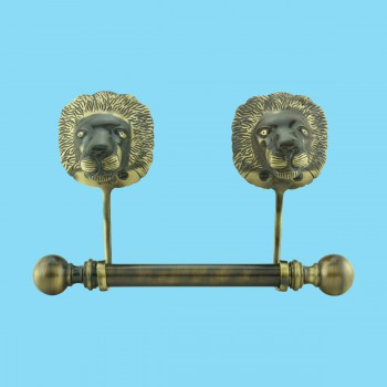 <PRE>Antique Toilet Paper Holder Wall Mount Anti Brass Lions Tissue Holder</PRE>zoom2