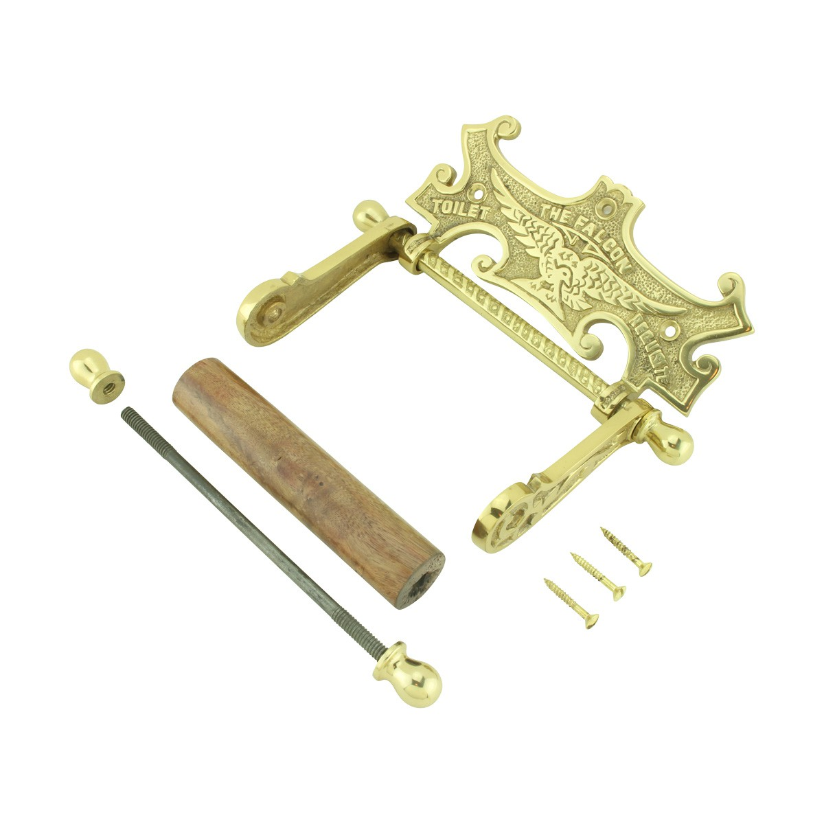 Traditional Brass Falcon Tissue Holder for Bathroom toilet paper holder stand toilet paper holder free standing Toilet Paper Holder