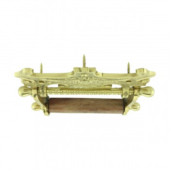 <PRE>Traditional Brass Falcon Tissue Holder for Bathroom </PRE>zoom9