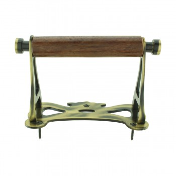 <PRE>Toilet Paper Holder Antique Brass Coronation Tissue Holder </PRE>zoom9