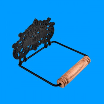 Princess Crown Toilet Tissue Holder Black Aluminum Black Toilet Paper Holder Brass Toilet Paper Holder Tissue Holder For Bathroom