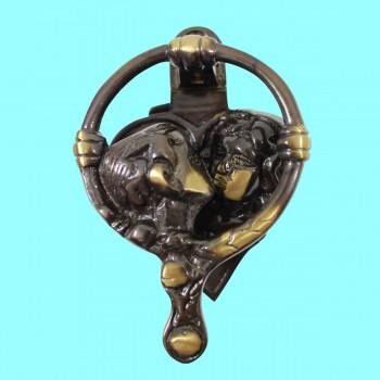 <PRE>Antique Door Knockers Brass Antique Door Hardware Kissing Cherubs Door Knocker</PRE>