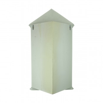 <PRE>White Urethane Wall Mount Bathroom Corner Medicine Cabinet Mirror</PRE>zoom5