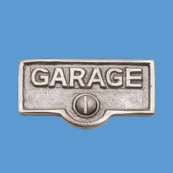 Switch Plate Tags GARAGE Name Signs Labels Chrome Brass Switch Plate Labels Switch Plate ID Labels Switch Plate Label